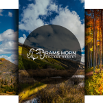 Rams Horn Village Fall Colors Triptych