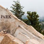Estes Park Welcome Sign