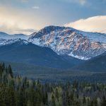 Snow-Capped Mountains in RMNP