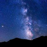 Night Sky Above Rocky Mountain National Park